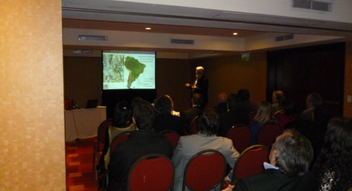 Presentation of Hierro Indio project to the Senators and Deputies of Mendoza 26/08/2014