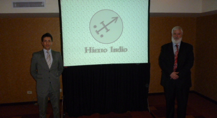 Presentación del Proyecto Hierro Indio ante Diputados y Senadores 26/09/2014
